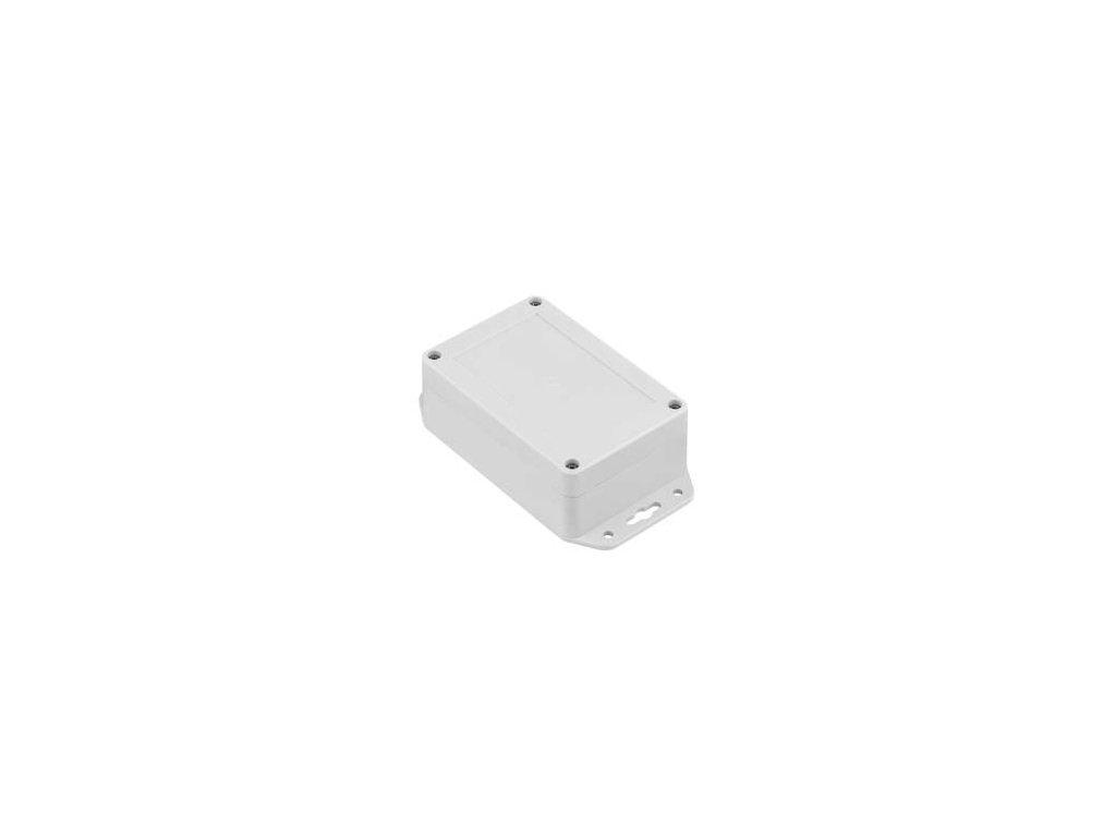 Plastová krabička ZP120.80.45UJ TM PC, šedá