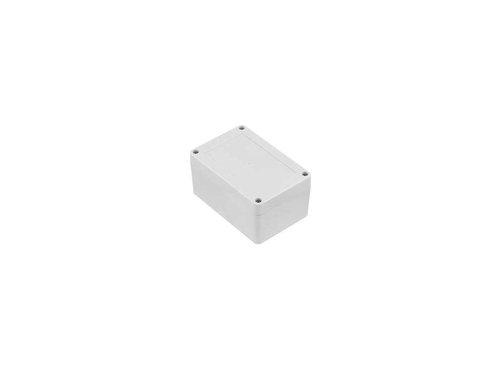 Plastová krabička ZP120.80.60J TM PC, šedá