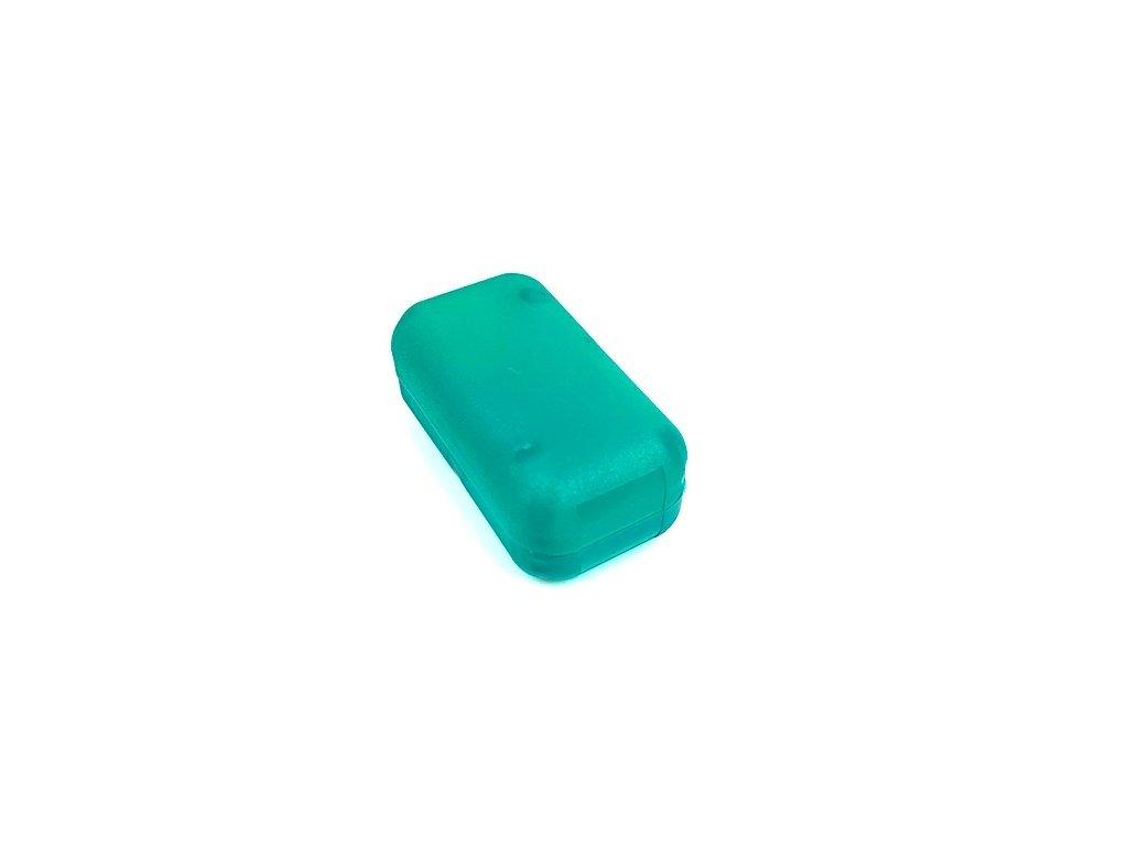 Plastová krabička KM24, zelená