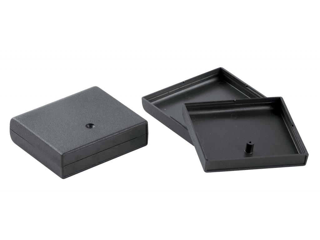 Plastová krabička KM19, černá