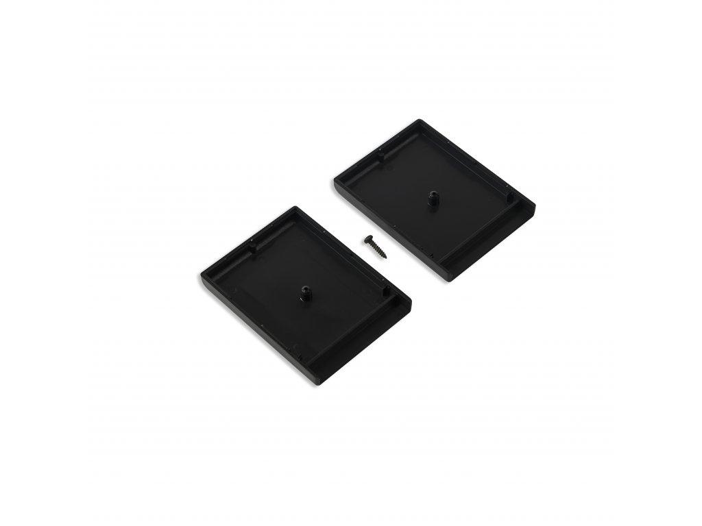Plastová krabička KM20B, černá