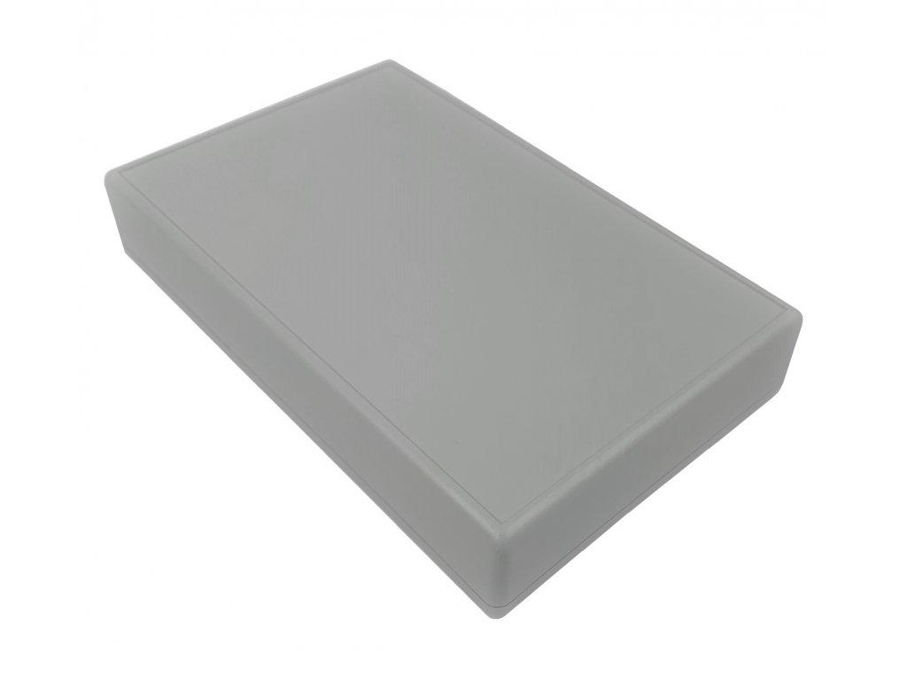 Plastová krabička HM1600A, šedá