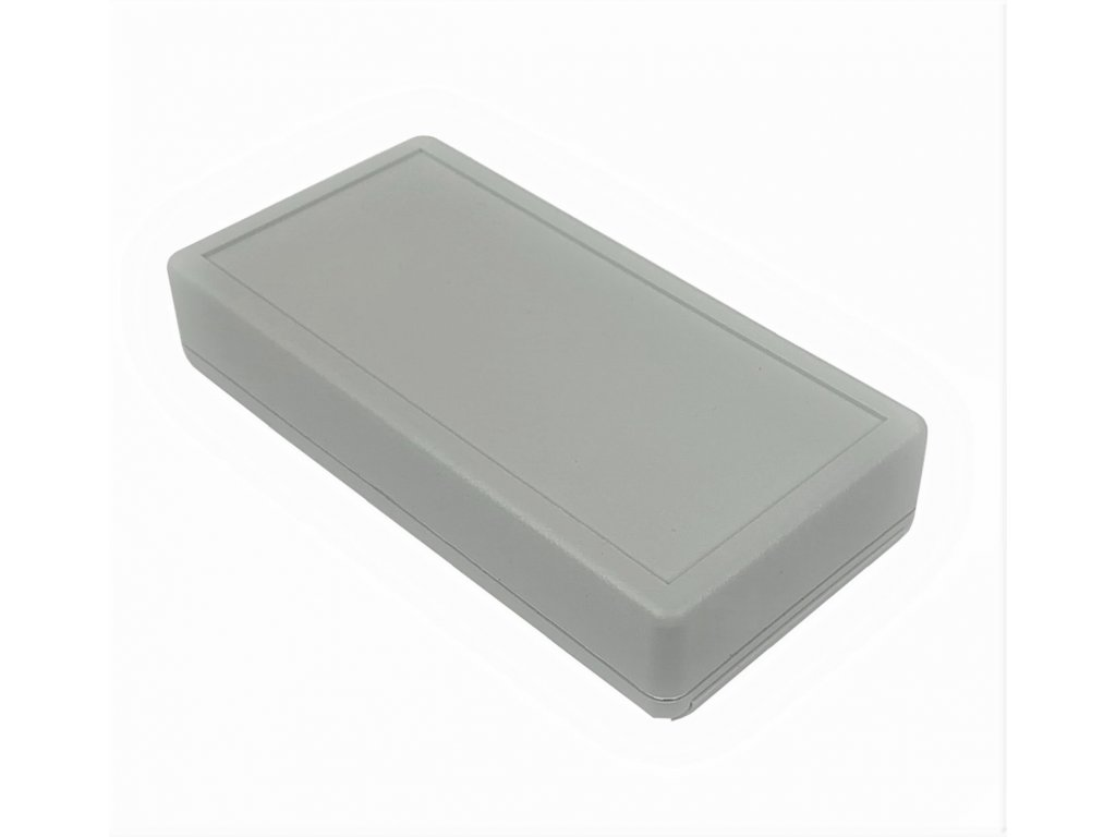 Plastová krabička HM1599BGYBAT, šedá