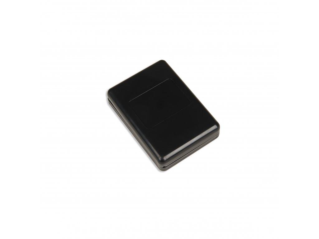 Plastová krabička KM22, černá