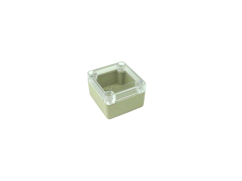 Plastová krabička BK1021, průhledné víko