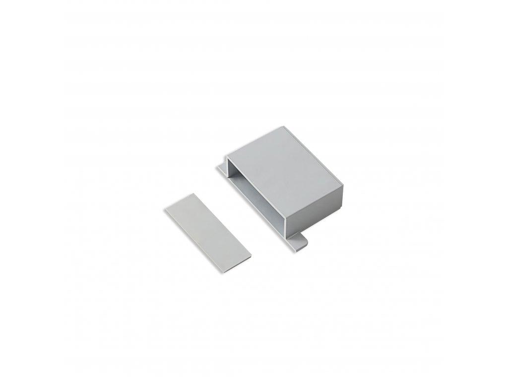 Plastová krabička KM25, šedá