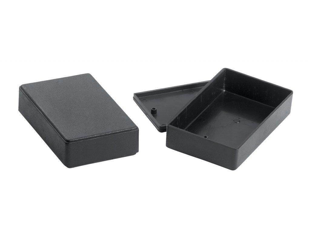 Plastová krabička KM26N, černá