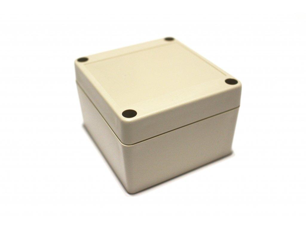 Plastová krabička BK1061, šedá
