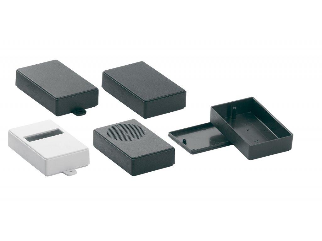 Plastová krabička KM26NB, černá