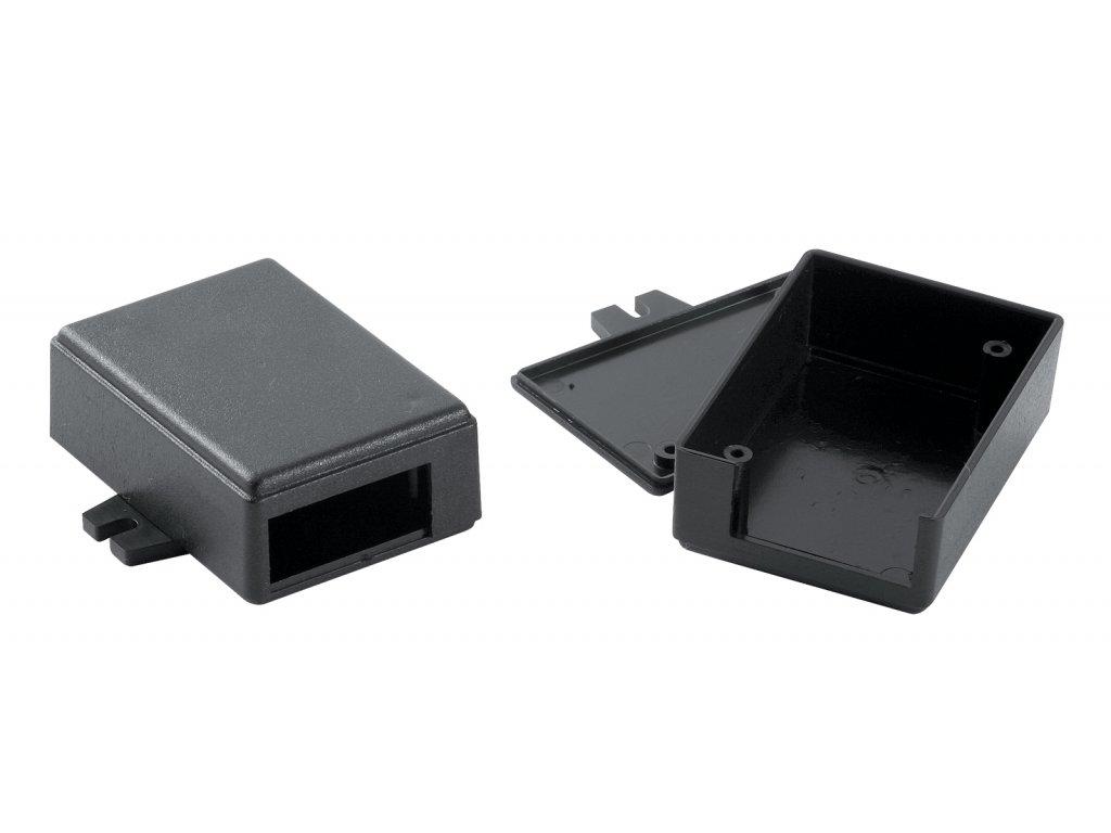 Plastová krabička KM27B, černá