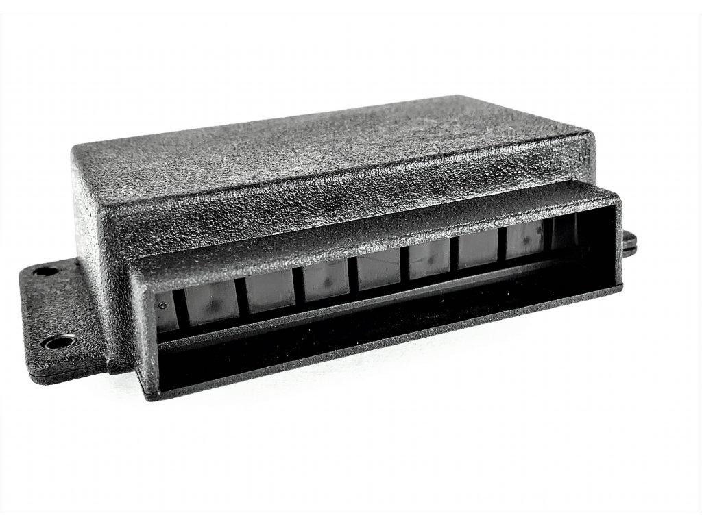 Plastová krabička KM28B, černá