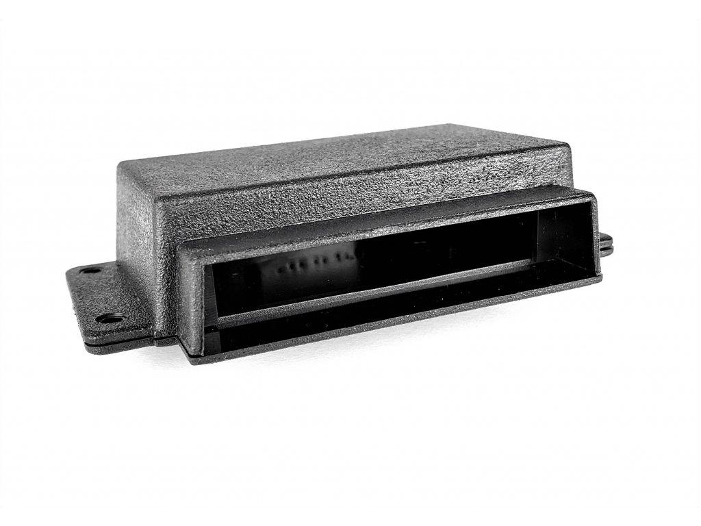 Plastová krabička KM28F, černá