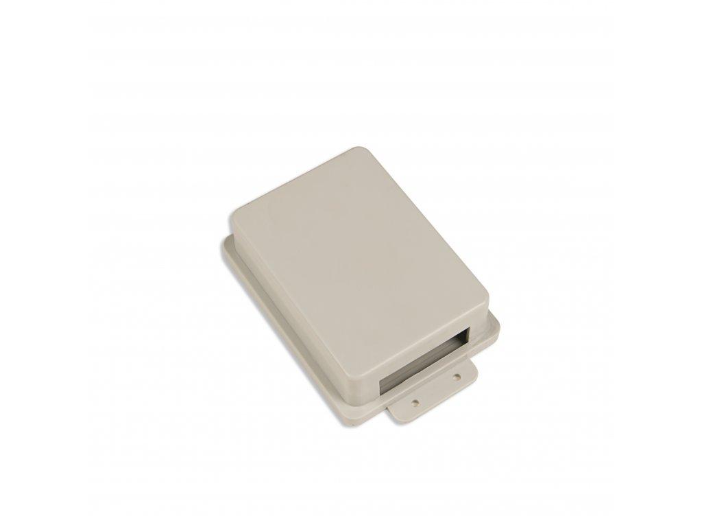 Plastová krabička KM29B, šedá