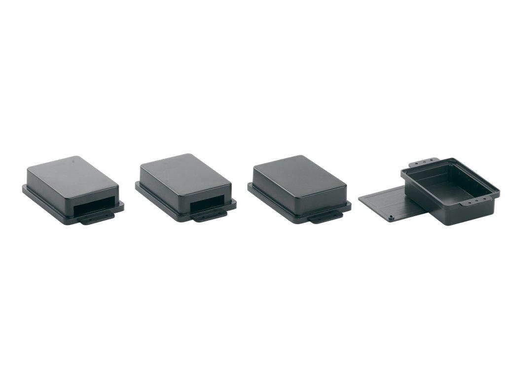 Plastová krabička KM29C, černá