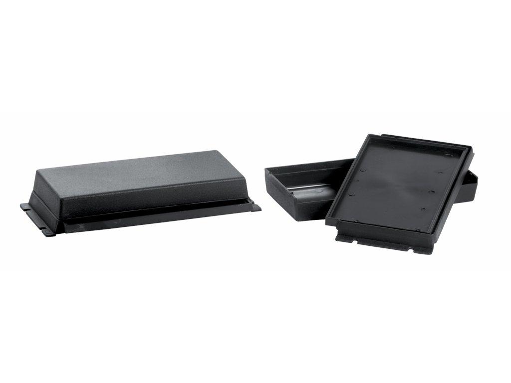 Plastová krabička KM30, černá