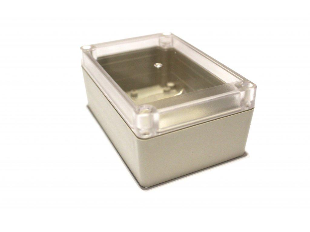 Plastová krabička BK1131, průhledné víko