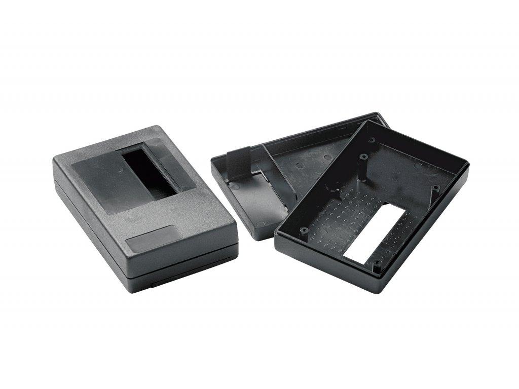 Plastová krabička KM33A, černá