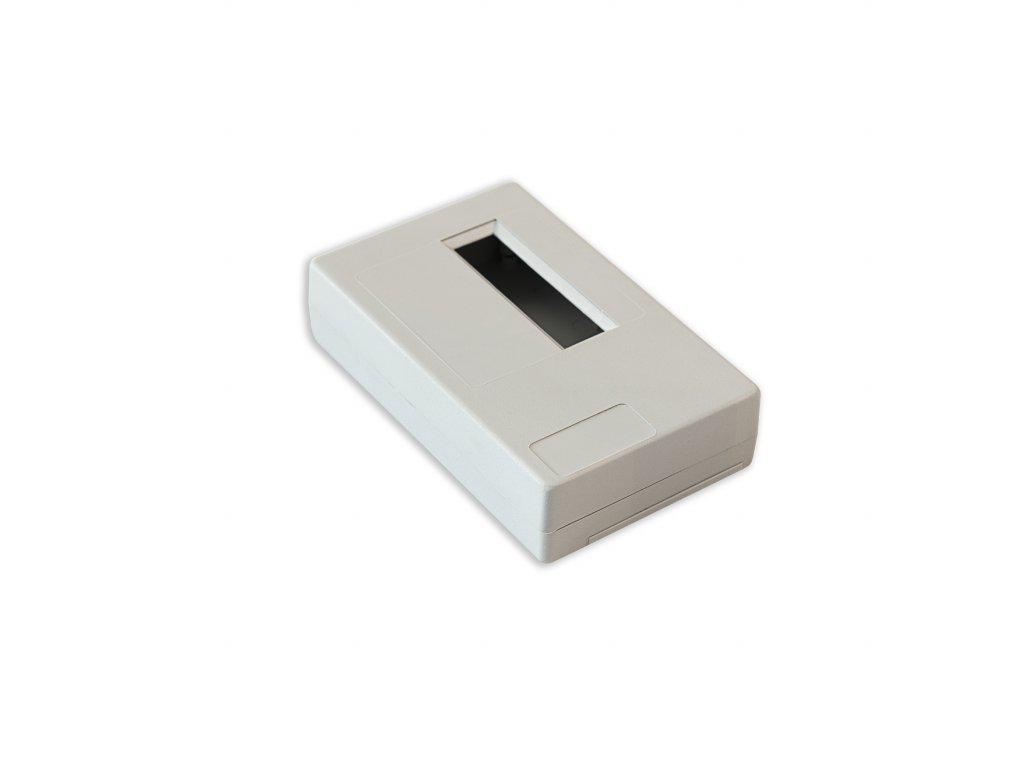 Plastová krabička KM33A, šedá