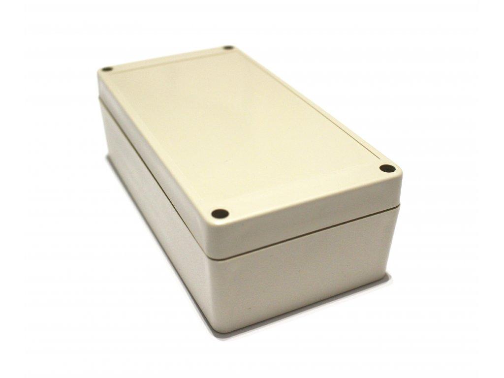 Plastová krabička BK1171, šedá