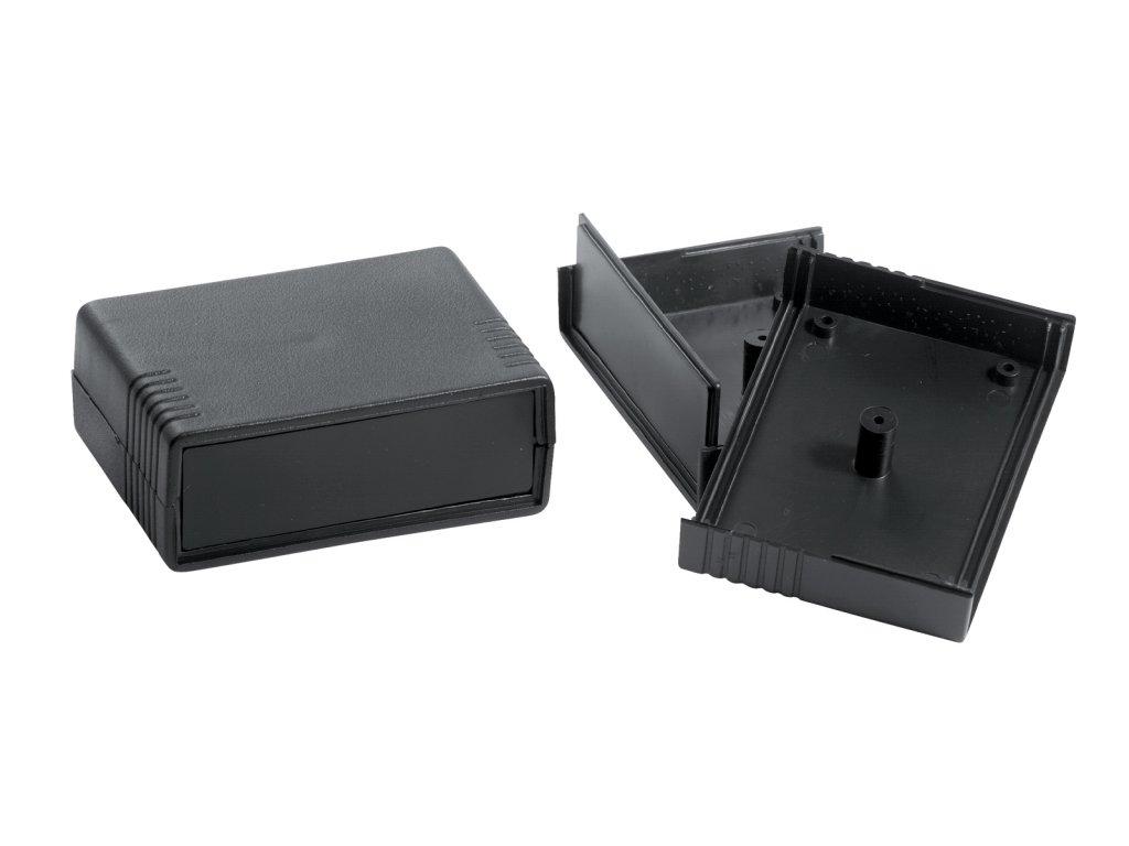 Plastová krabička KM35BN, černá