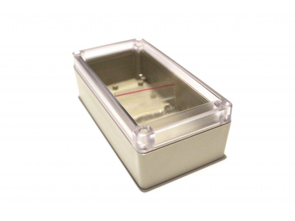 Plastová krabička BK1171, průhledné víko