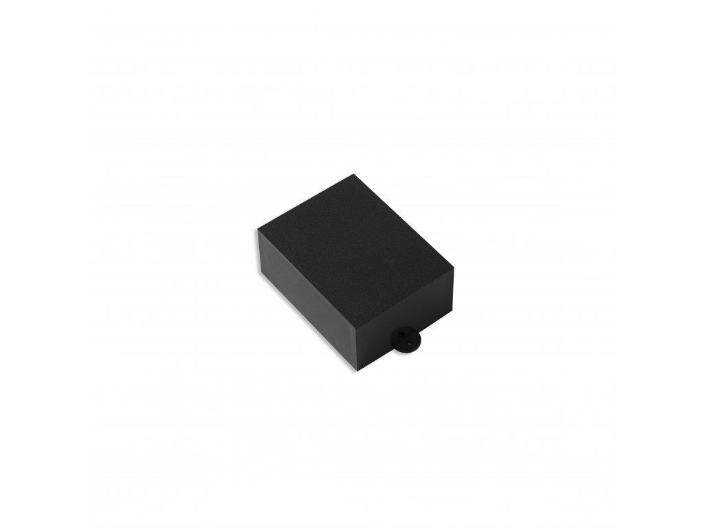 Plastová krabička KM36B, černá