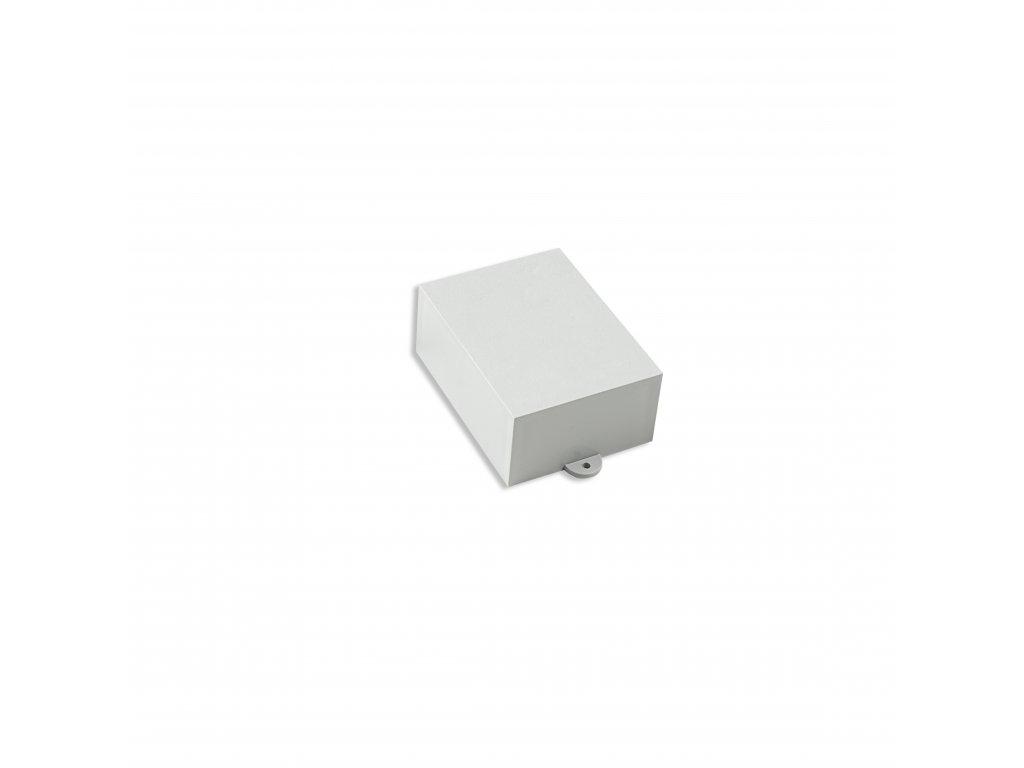 Plastová krabička KM36B, šedá