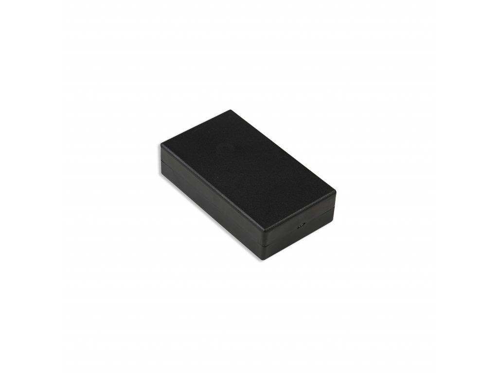 Plastová krabička KM37B, černá