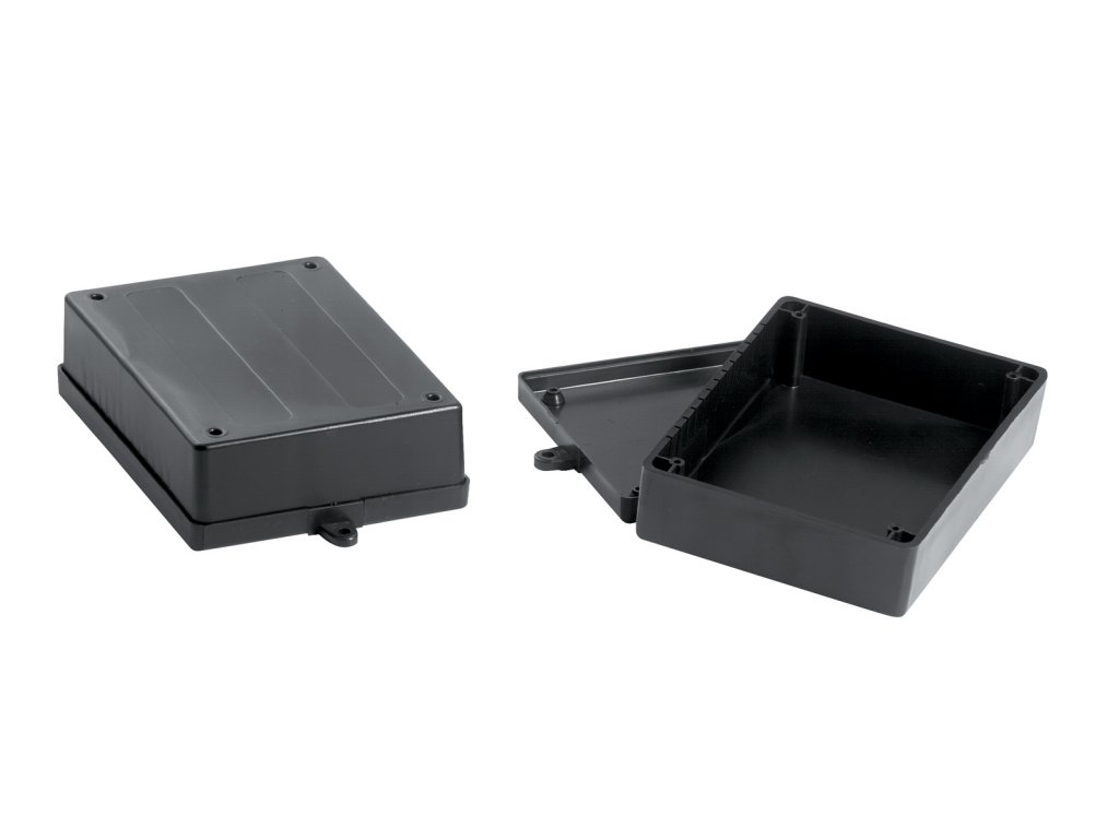 Plastová krabička KM38B, černá