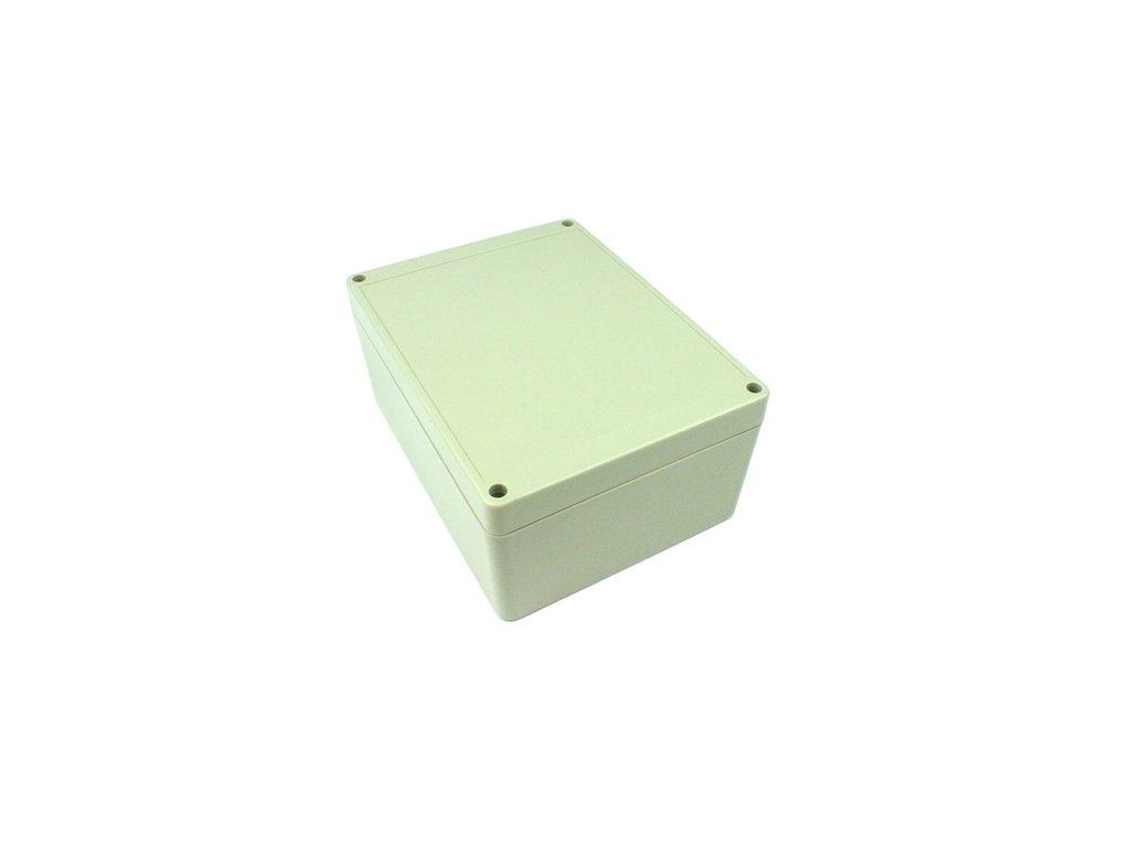 Plastová krabička BK1241, šedá