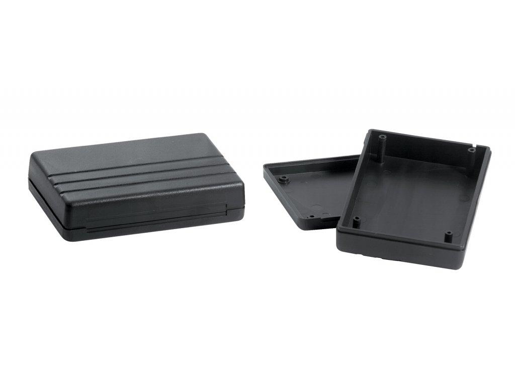 Plastová krabička KM39, černá