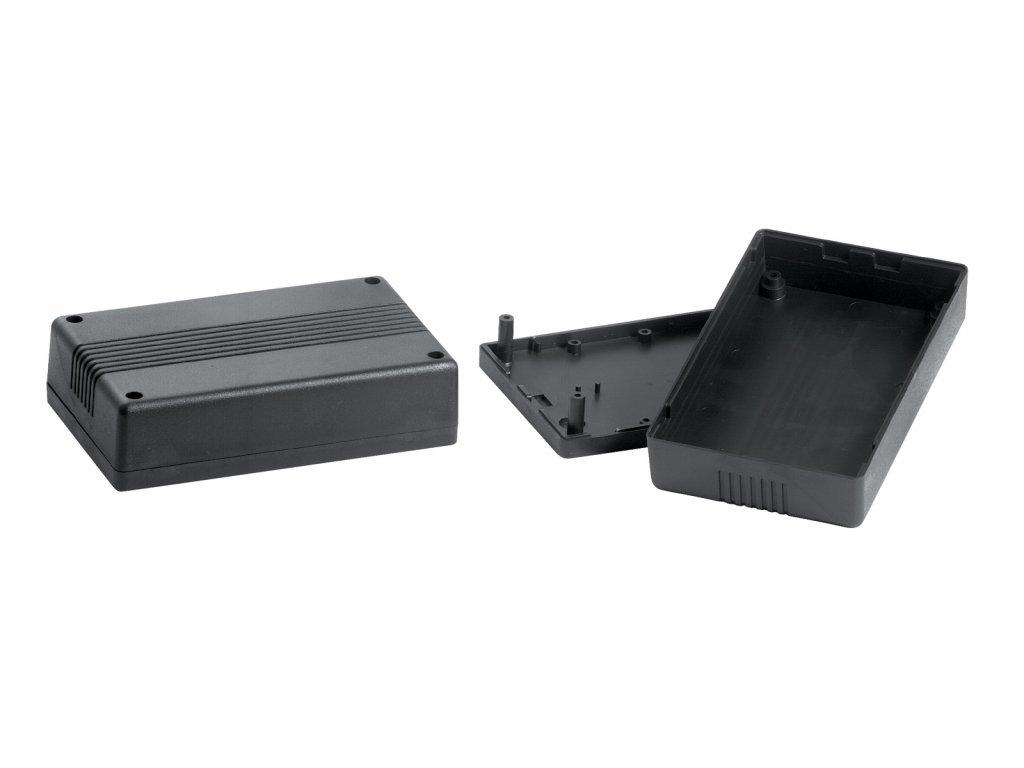 Plastová krabička KM40, černá