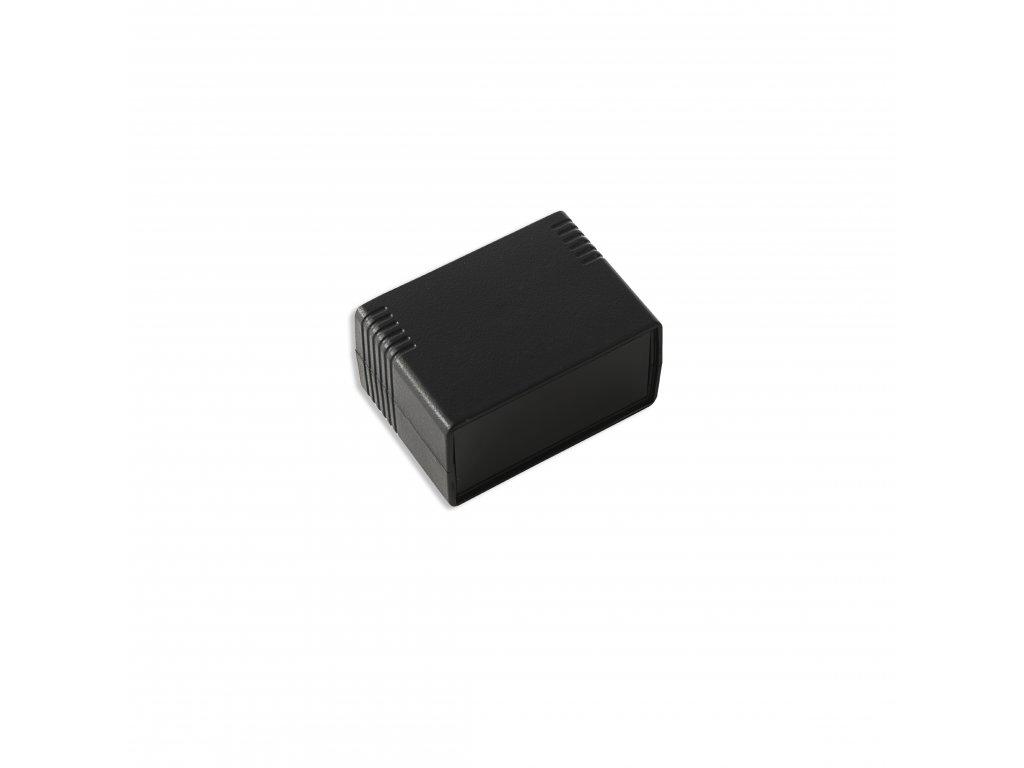 Plastová krabička KM42BN, černá