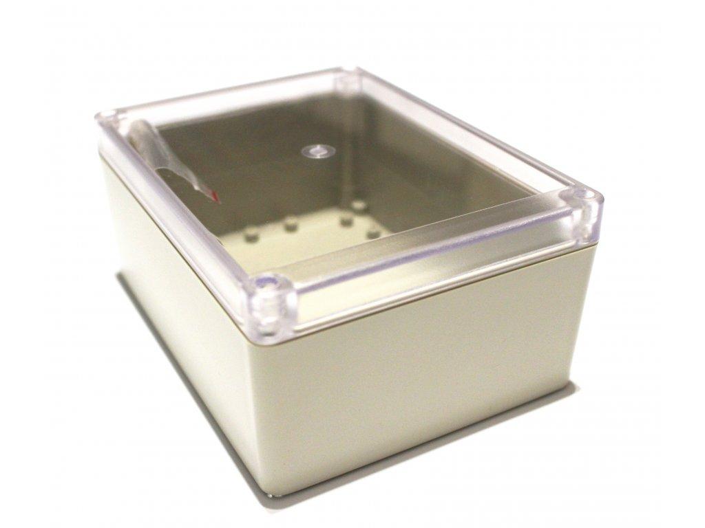 Plastová krabička BK1241, průhledné víko