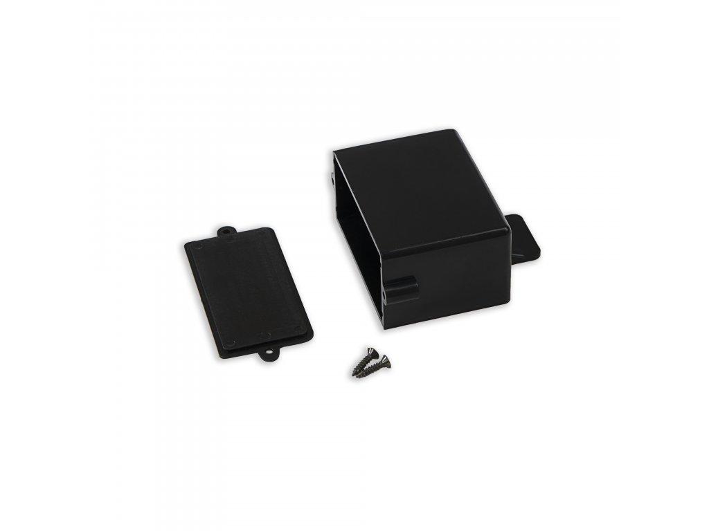 Plastová krabička KM44, černá