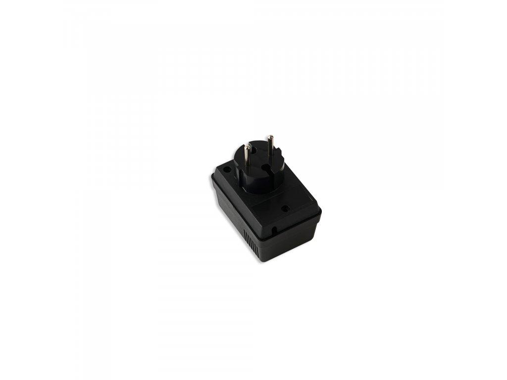 Plastová krabička KM47, černá