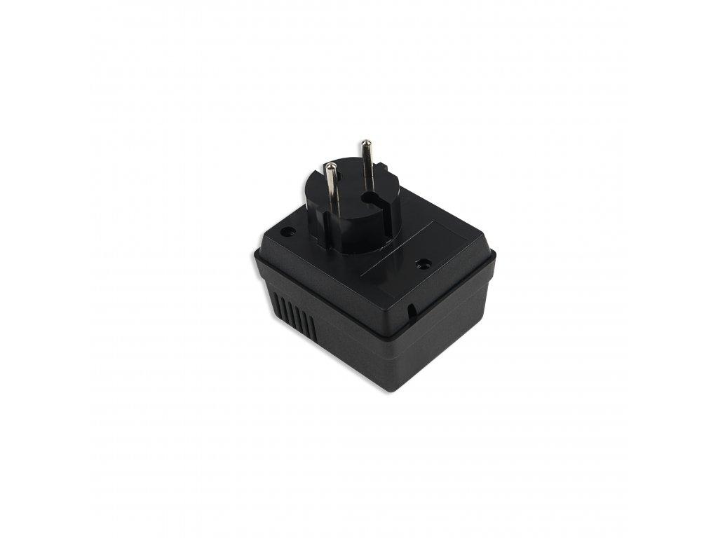Plastová krabička KM48, černá