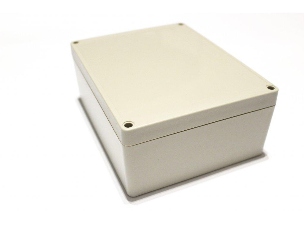 Plastová krabička BK1281, šedá