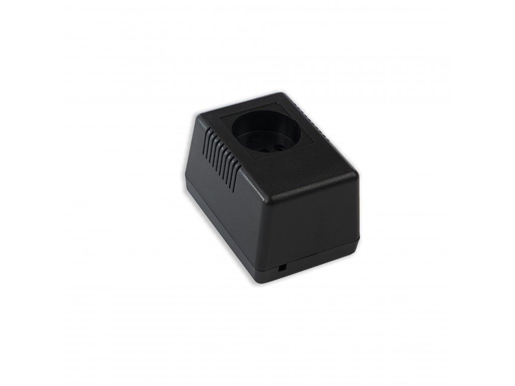 Plastová krabička KM49D, černá