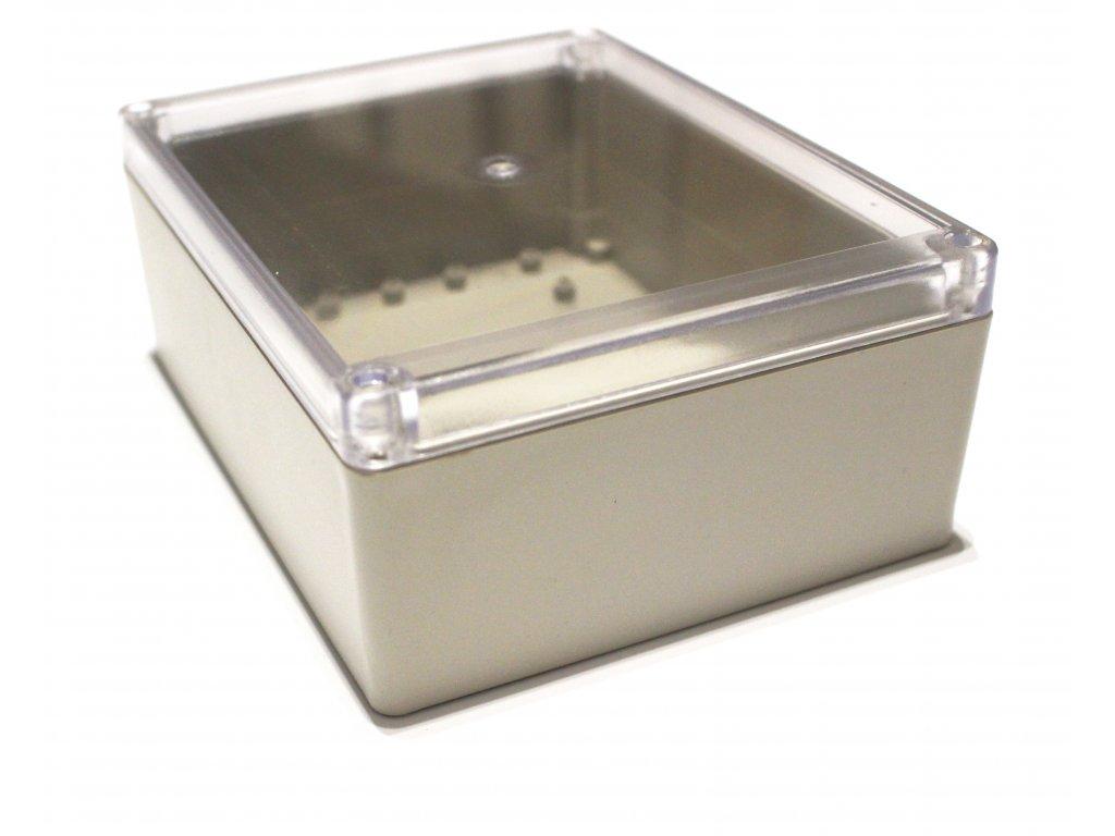 Plastová krabička BK1281, průhledné víko