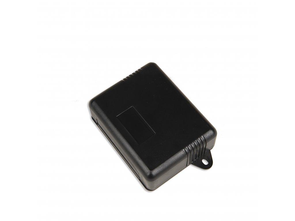 Plastová krabička KM53, černá