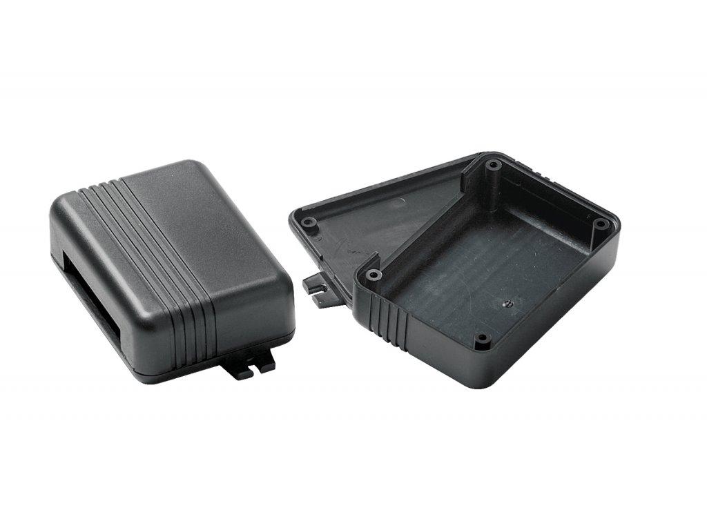 Plastová krabička KM54, černá