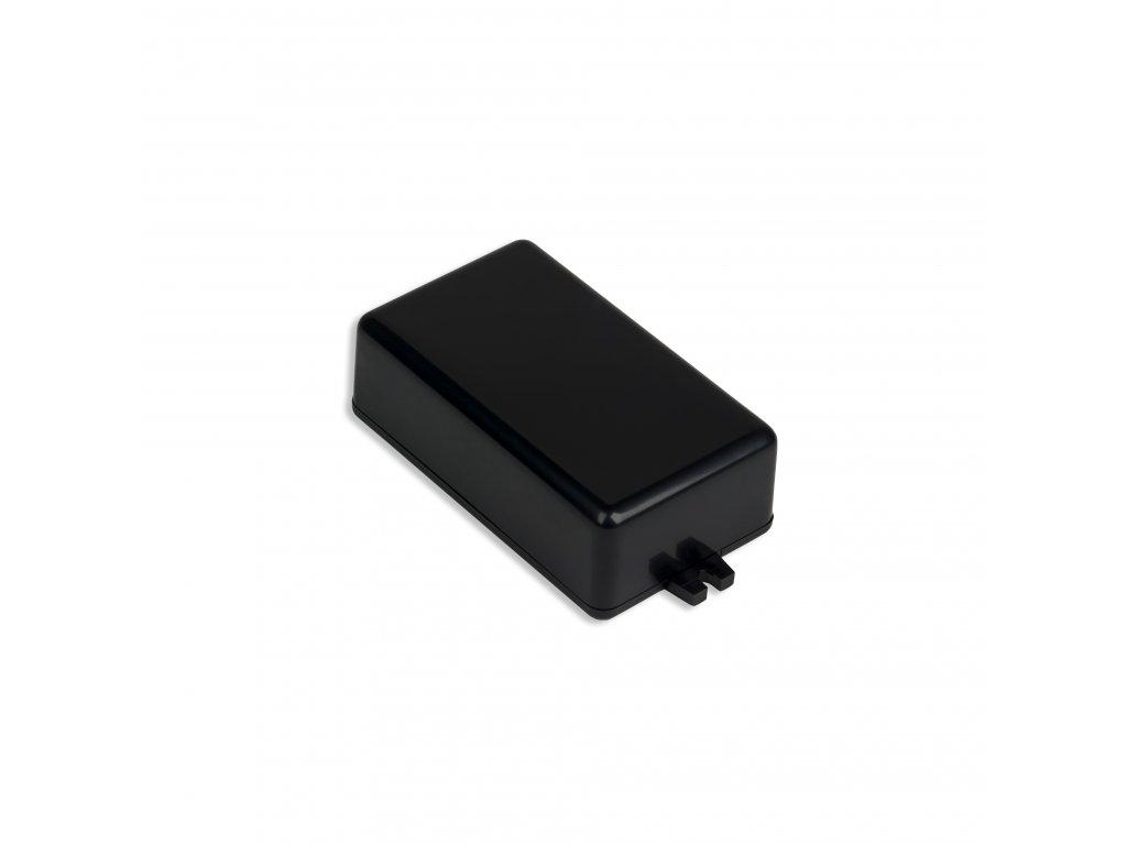 Plastová krabička KM55A, černá
