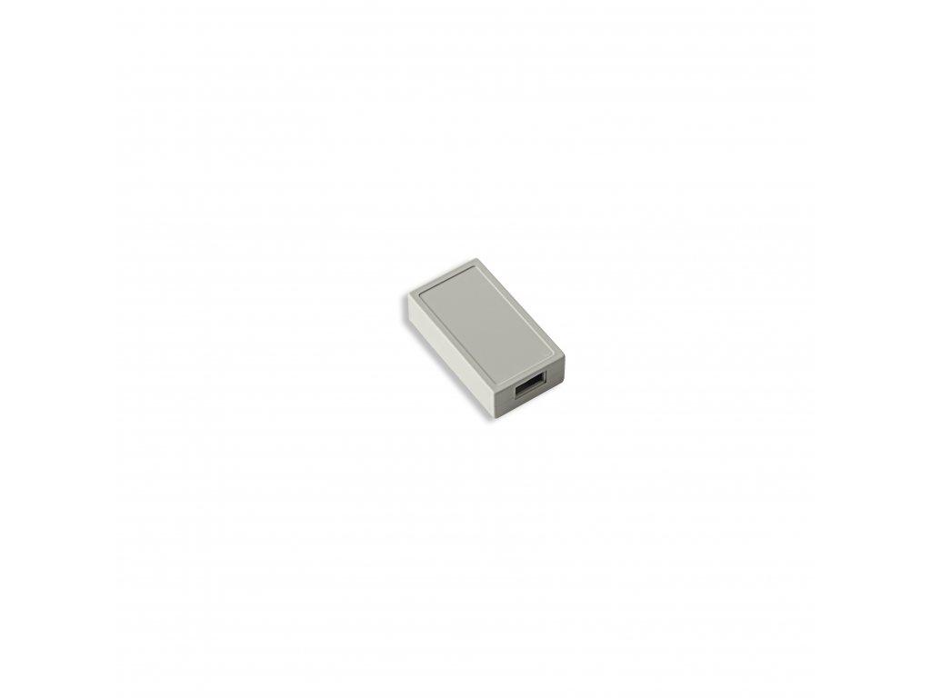 Plastová krabička KM57A, šedá