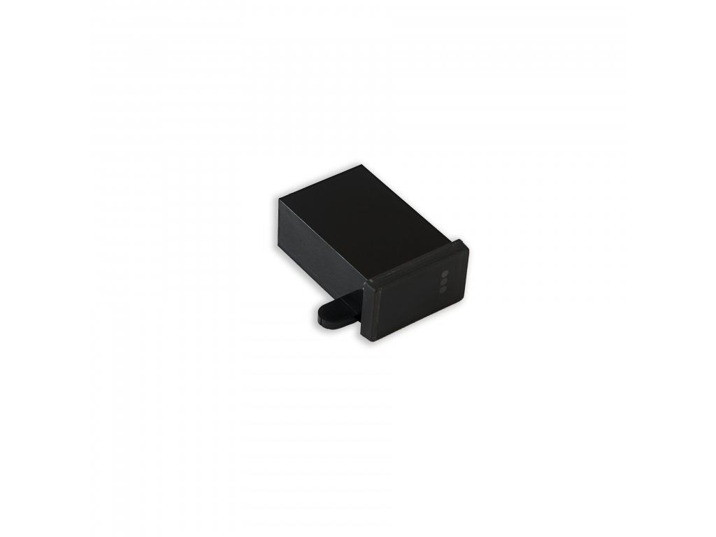 Plastová krabička KM58A, černá