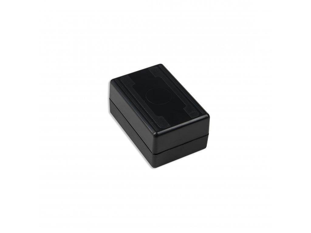 Plastová krabička KM59, černá