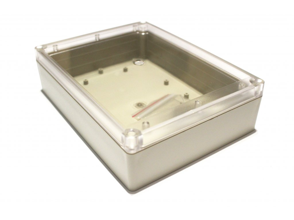 Plastová krabička BK1451, průhledné víko