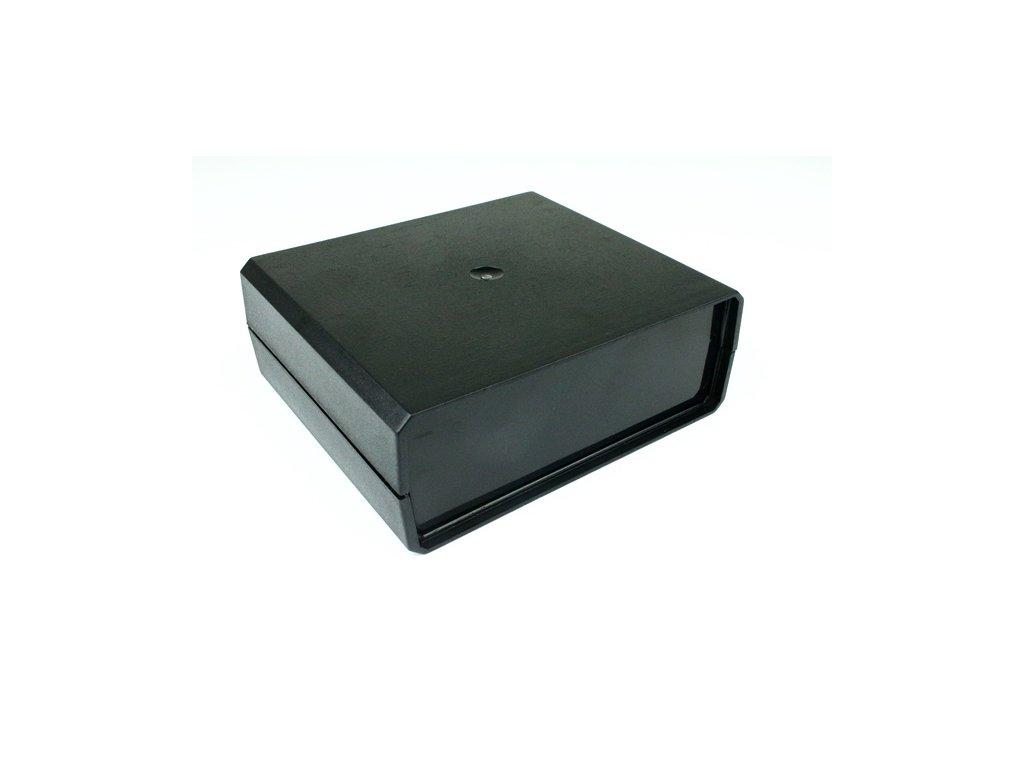 Plastová krabička KM60, černá