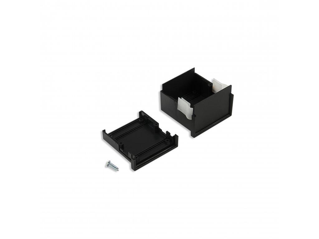 Plastová krabička KM62, černá