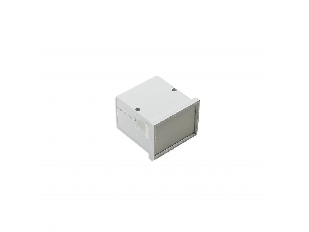 Plastová krabička KM62, šedá